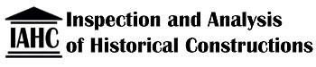 Inspection and Analysis of Historical Constructions